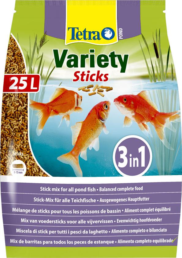 Tetra Pond Veriety Sticks – корм для прудовых рыб