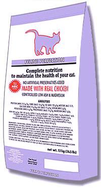 FELINE PERFECTION – сухой корм для кошек с мочекаменной болезнью