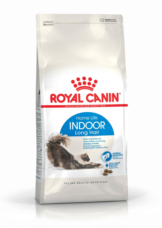ROYAL CANIN INDOOR LONG HAIR – сухой корм для взрослых длинношерстных котов