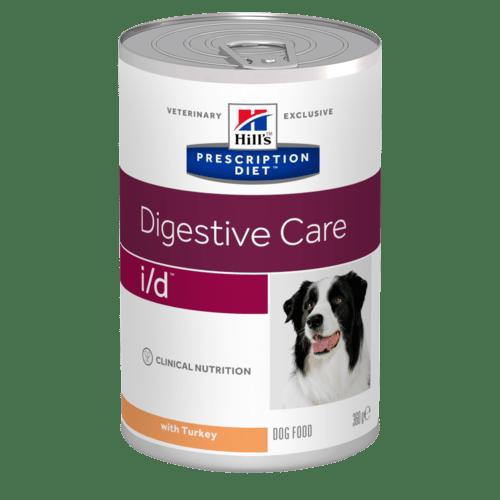 HILL'S Prescription Diet Canine I/D – лікувальний вологий корм з індичкою для дорослих собак із розладами травлення