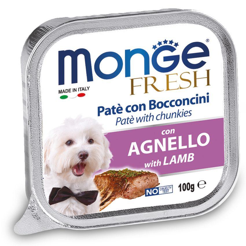 Monge Fresh Lamb – консервы с ягненком для собак