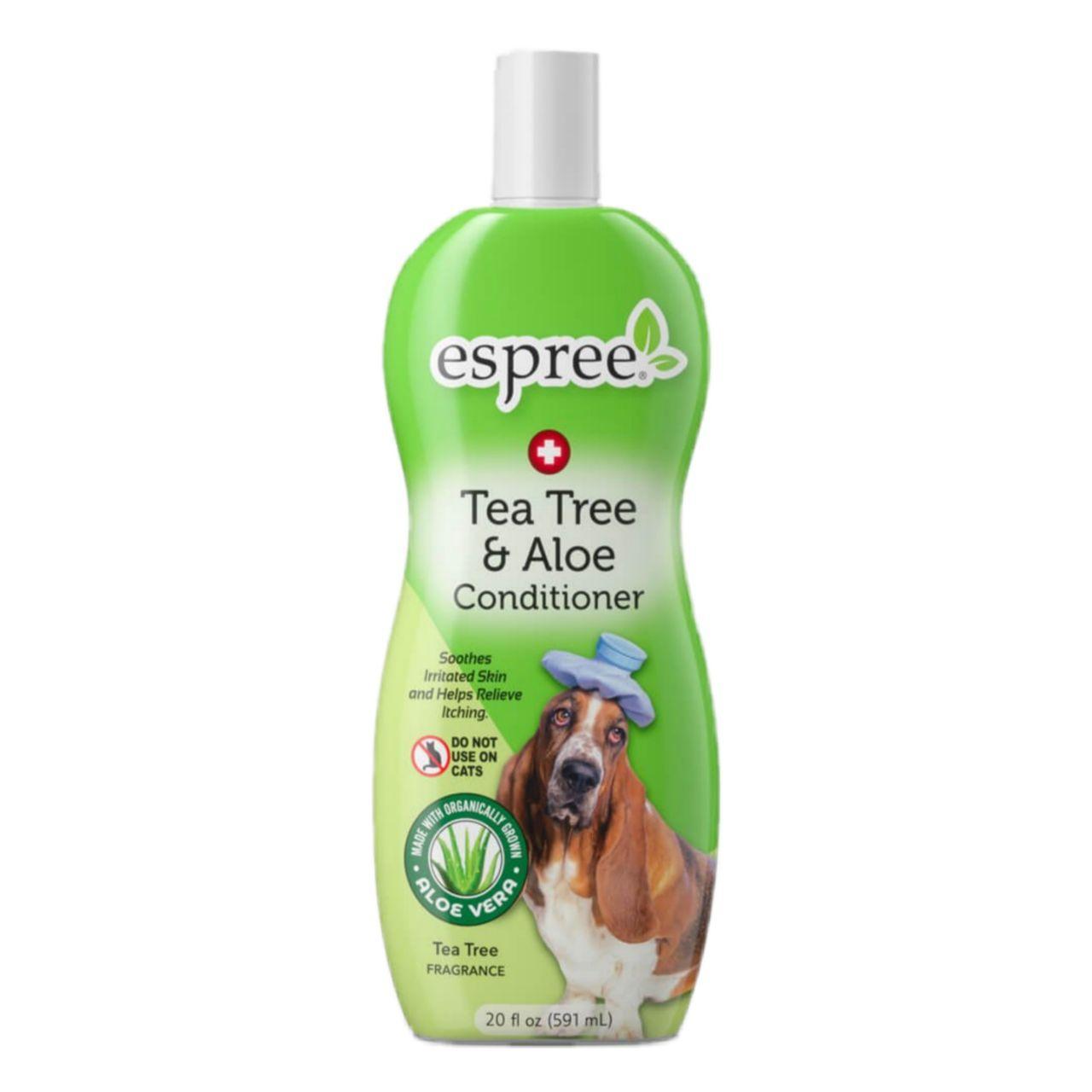 Espree Tea Tree&Aloe Conditioner – терапевтический кондиционер с маслом чайного дерева для собак и щенков