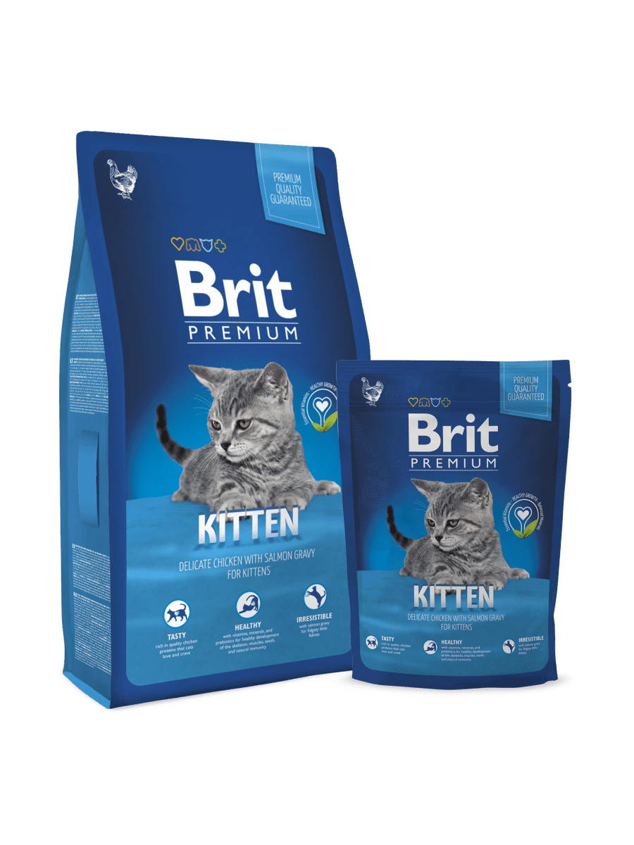 BRIT PREMIUM CAT KITTEN – сухой корм для котят