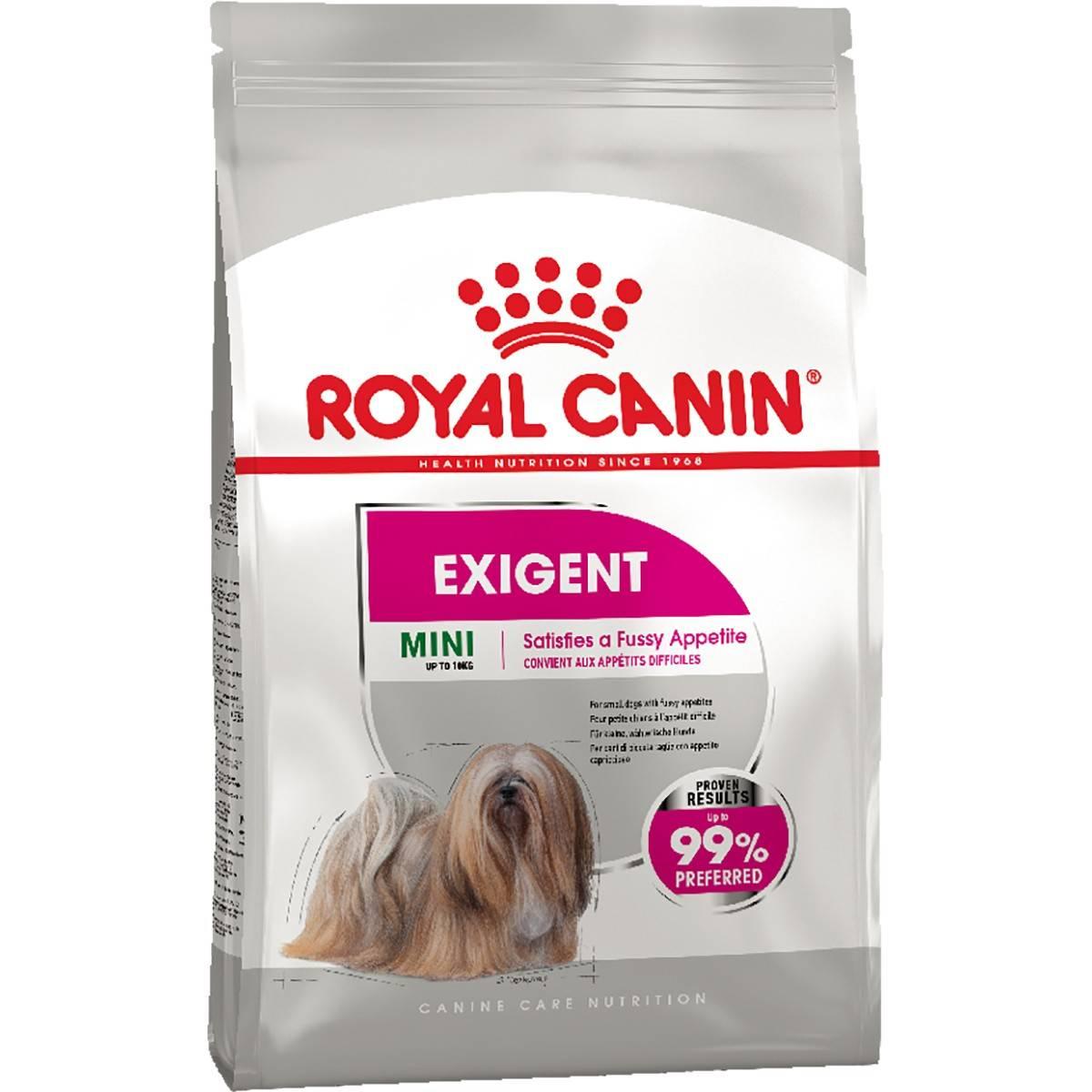 ROYAL CANIN MINI EXIGENT – сухой корм для привередливых собак малых пород