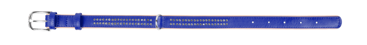 COLLAR Brilliance ошейник с маленькими стразами, 35 мм, 46-60 см