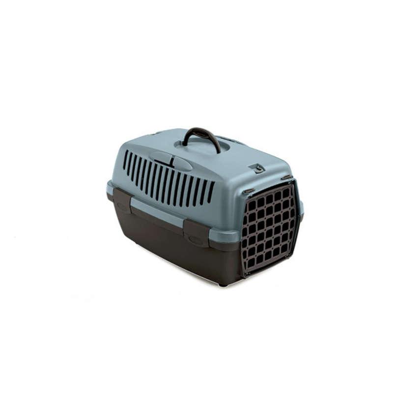 Stefanplast Gulliver 1 переноска з пластиковими дверима для собак і кішок вагою до 5 кг, 48×32×31 см