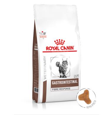 ROYAL CANIN GASTRO INTESTINAL FIBRE RESPONSE FELINE – лечебный сухой корм для взрослых котов при нарушениях пищеварения