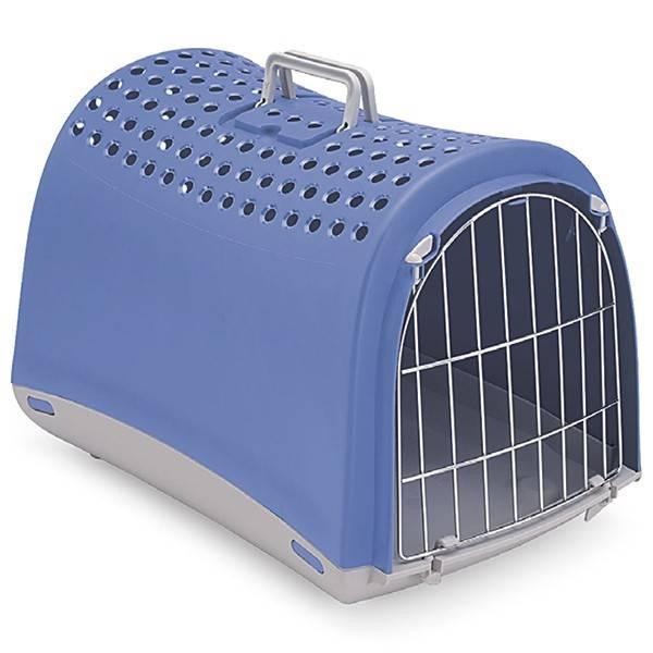 IMAC LINUS – переноска для собак і котів із металевими дверима