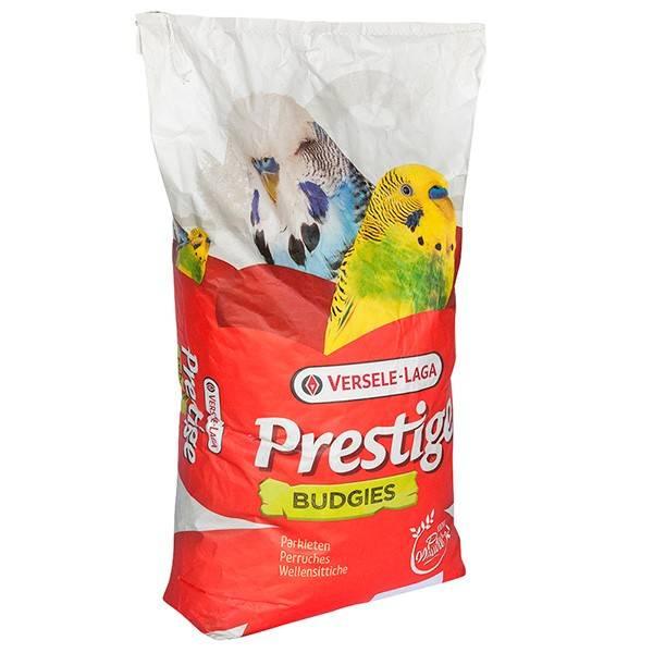 VERSELE-LAGA PRESTIGE ВUDGIES – корм для волнистых и других маленьких попугайчиков