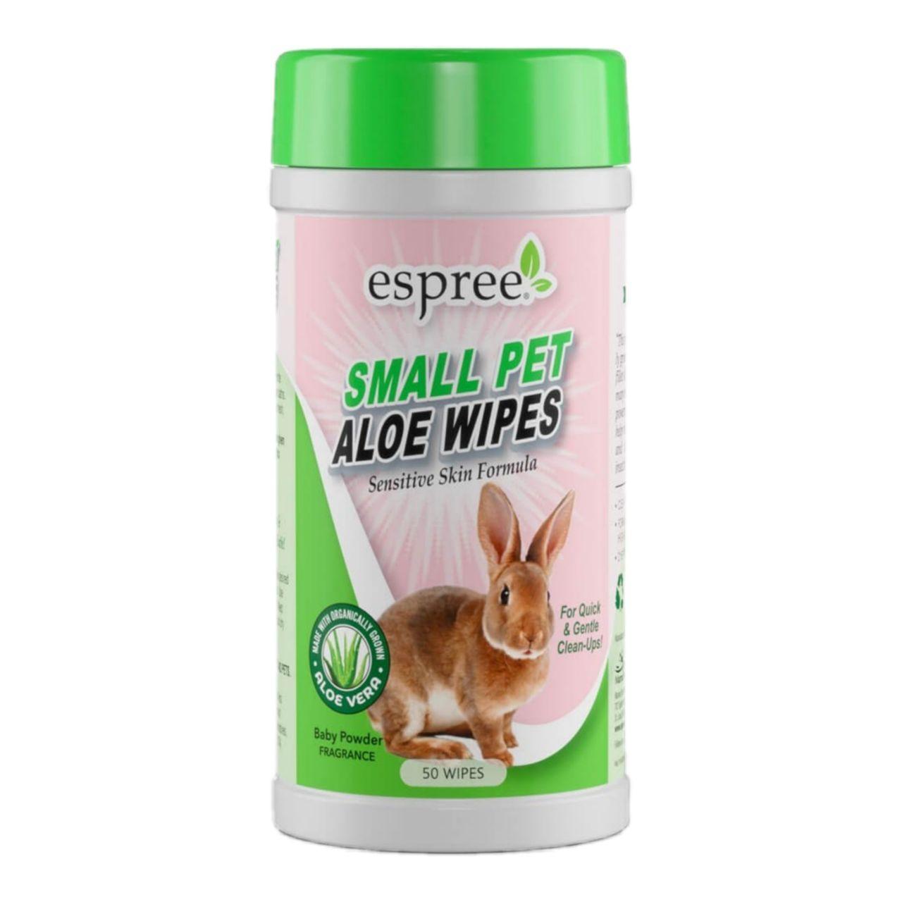 Espree Small Animal Wipes – вологі серветки для грумінгу дрібних тварин