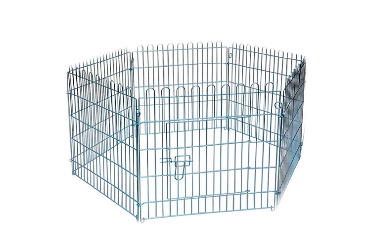 AnimAll клетка-манеж для собак, 62.5×63 см