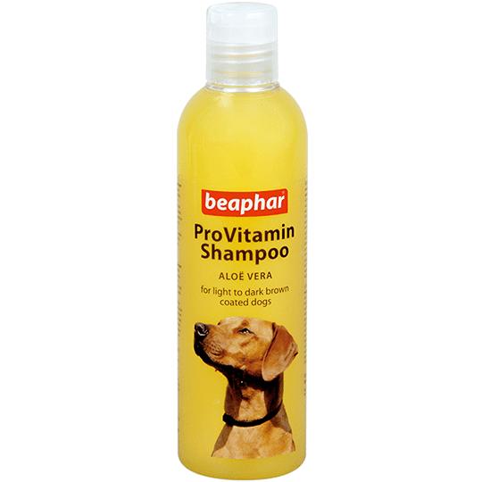 Beaphar ProVitamin Shampoo Aloe Vera –  шампунь з екстрактом алое вера для рудих та коричневих собак