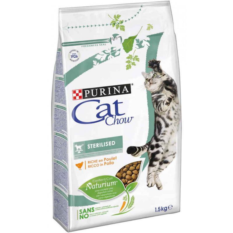 CAT CHOW SPECIAL CARE STERELIZED – сухой корм с курицей для стерилизованных котов