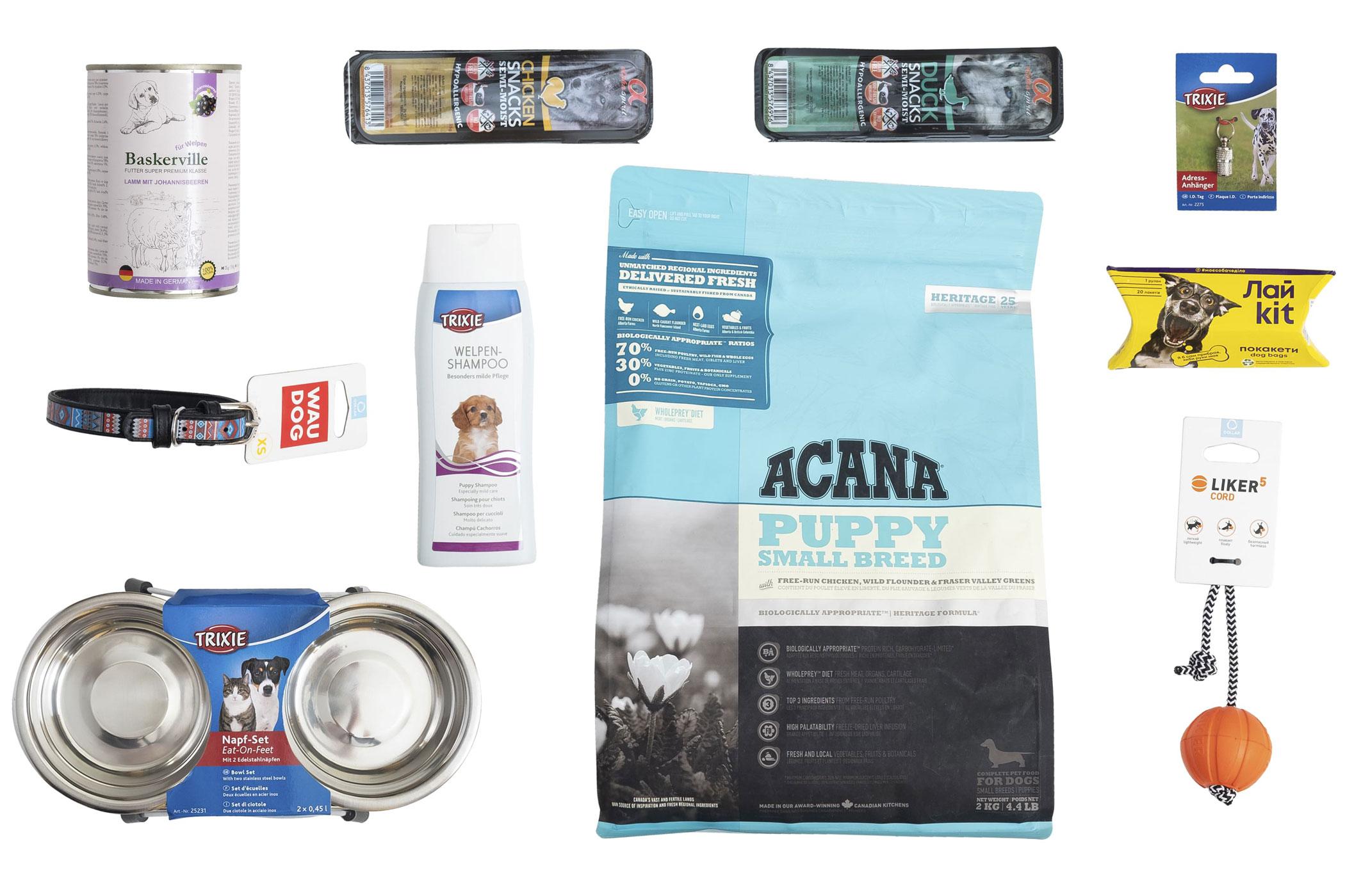 Acana Puppy Small Breed  – Стартовый набор для щенков маленьких пород