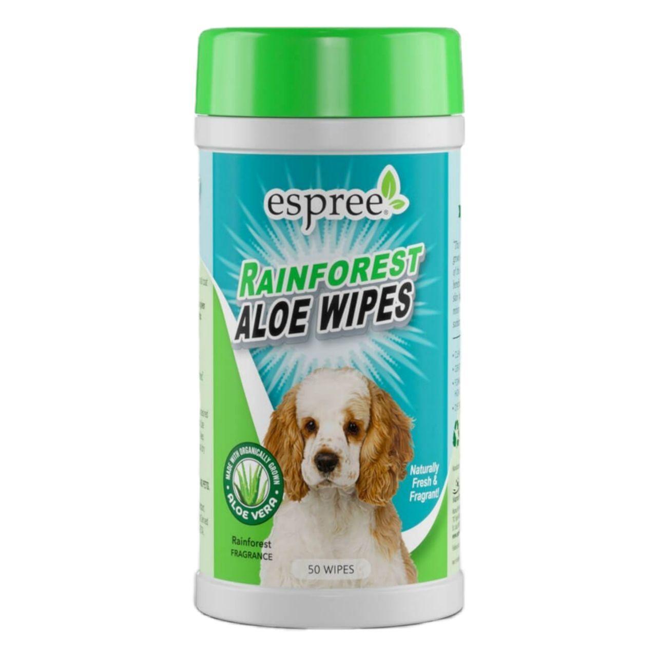 Espree Rainforest Wipes – влажные салфетки для собак с тропическим ароматом