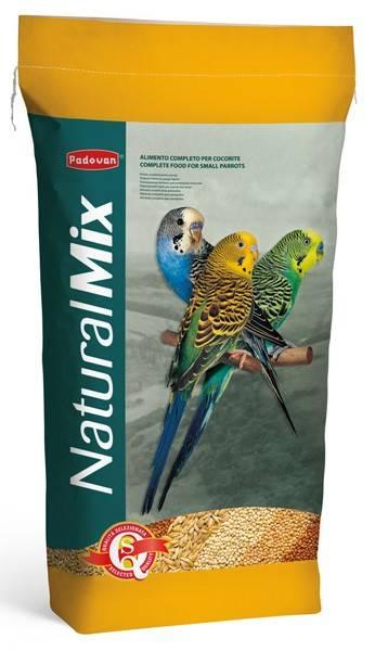 Padovan NaturalMix Сocorite – корм для волнистых попугаев