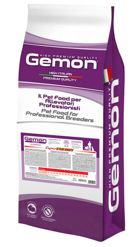 Gemon Super Energy – сухой корм для взрослых собак с высокой ежедневной активностью