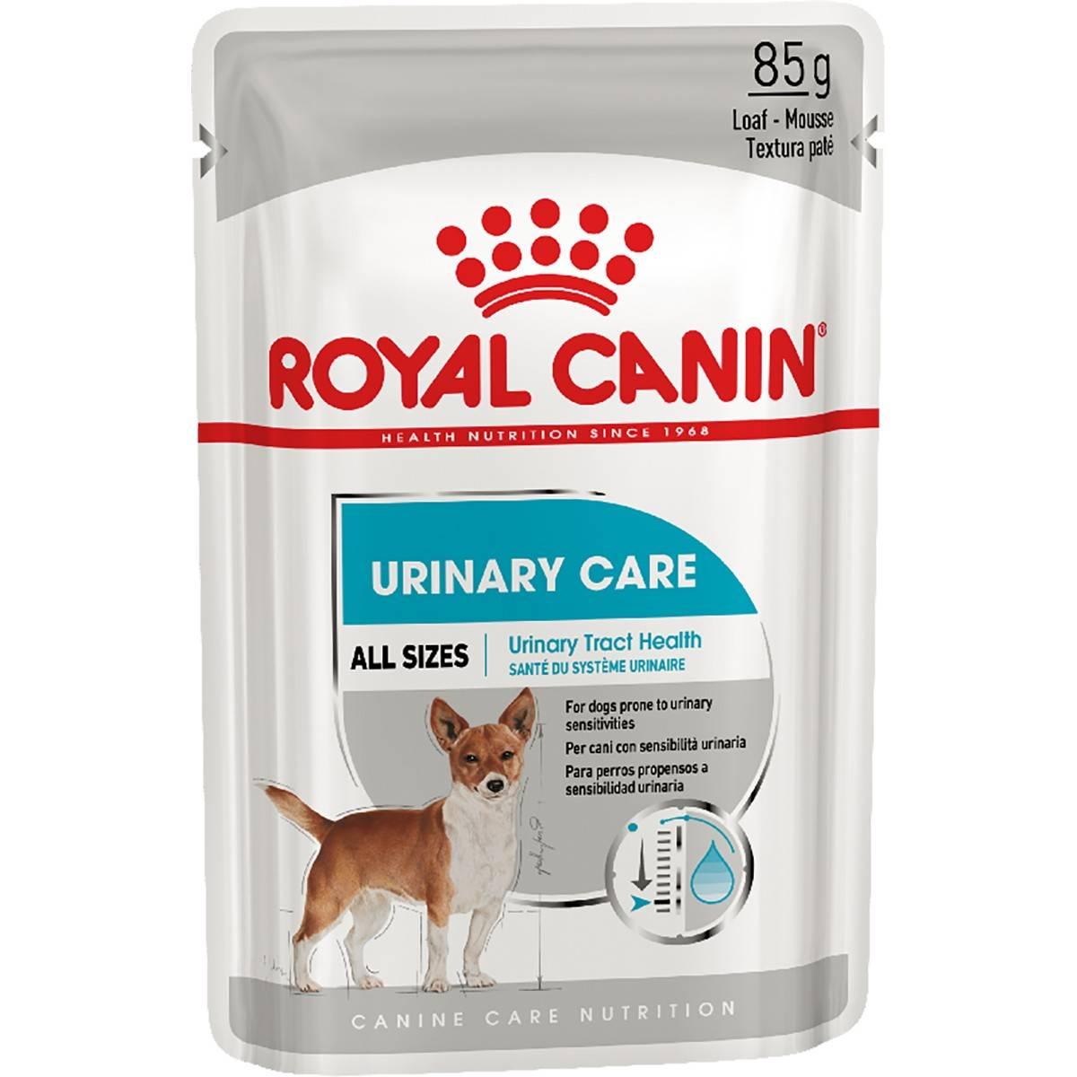 ROYAL CANIN MINI URINARY CARE – влажный корм для собак всех пород с чувствительной мочевыделительной системой