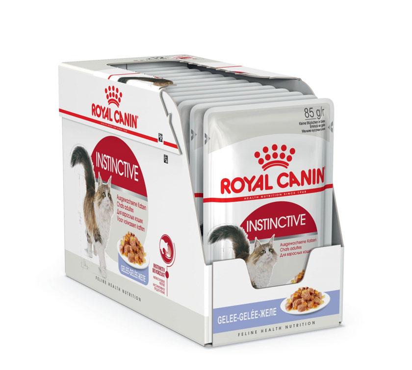 ROYAL CANIN INSTINCTIVE wet in jelly – влажный корм для взрослых кошек