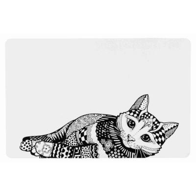Trixie Zentangle коврик под миску для котов