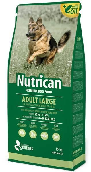NUTRICAN ADULT LARGE – сухий корм для дорослих собак великих порід