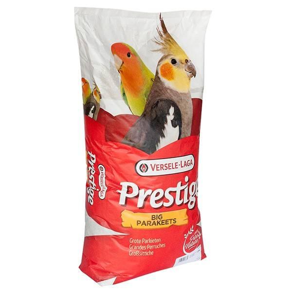 VERSELE-LAGA PRESTIGE BIG PARAKEETS COCKATIELS – корм для средних попугаев