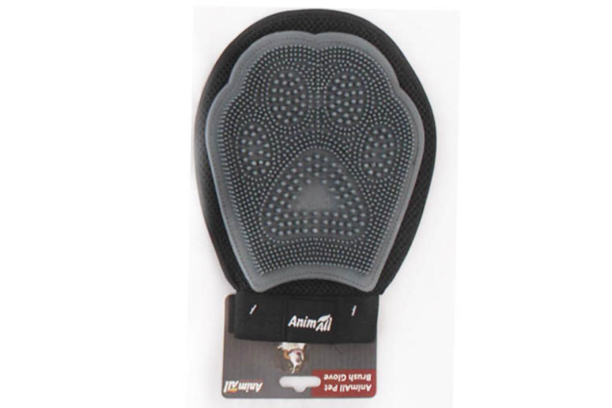 AnimAll Groom – массажная рукавица для вычесывания шерсти