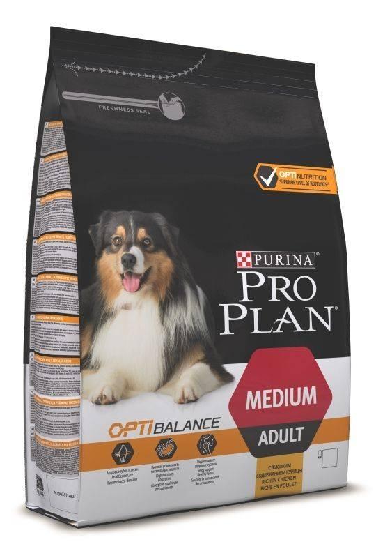 PURINA PRO PLAN ADULT MEDIUM OPTIHEALTH – сухой корм для взрослых собак средних пород