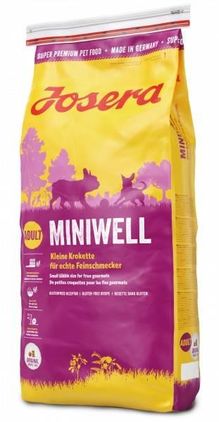 JOSERA MINIWELL – сухой корм для взрослых собак малых пород