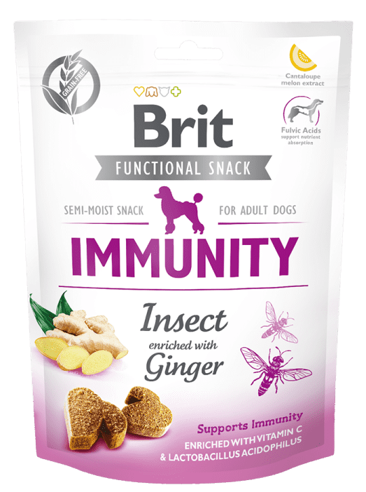 BRIT CARE IMMUNITY INSECT –  лакомство для собак для поддержки иммунитета