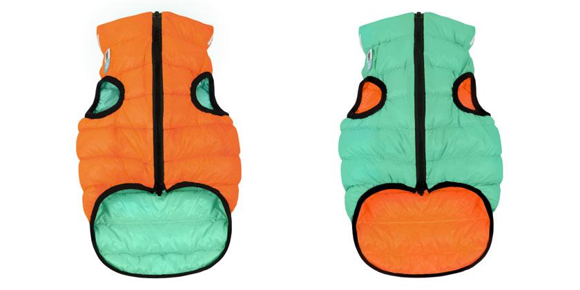 AiryVest Lumi куртка для собак, что светится в темноте, М 45