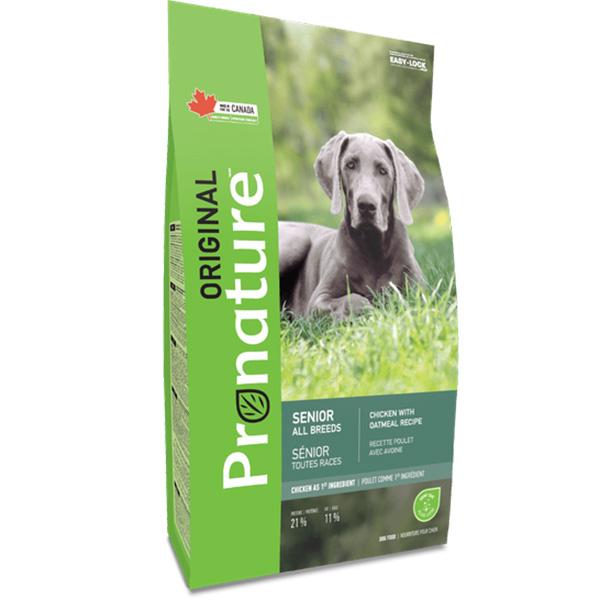 PRONATURE ORIGINAL SENIOR CHICKEN – сухий корм з куркою для літніх собак усіх порід
