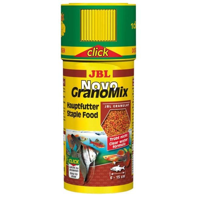 JBL NovoGranoMix CLICK – корм для акваріумних риб в гранулах