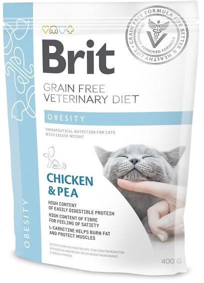 Brit Veterinary Diet Cat Obesity – лечебный сухой корм для взрослых котов с избыточным весом