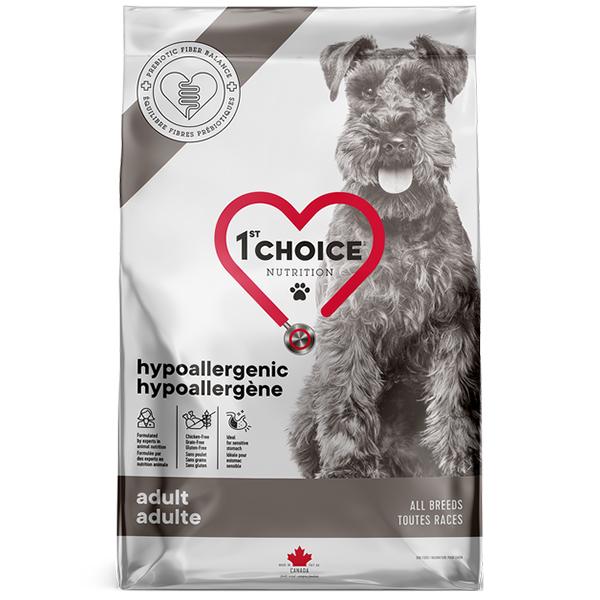 1ST CHOICE HYPOALLERGENIC ADULT – гипоалергенный сухой корм для взрослых собак