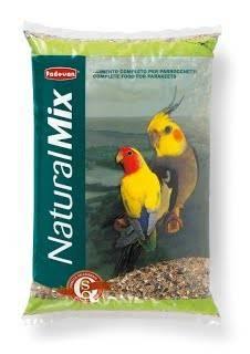 Padovan NaturalMix Parrocchetti – корм для середних попугаев