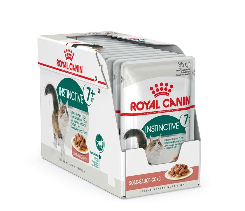 ROYAL CANIN INSTINCTIVE 7+ wet in gravy – влажный корм для котов старше 7 лет