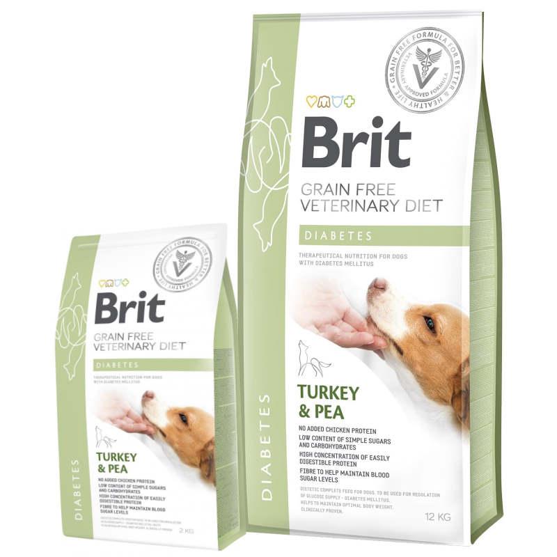 Brit Veterinary Diet Dog Diabetes – лечебный сухой корм для собак при сахарном диабете