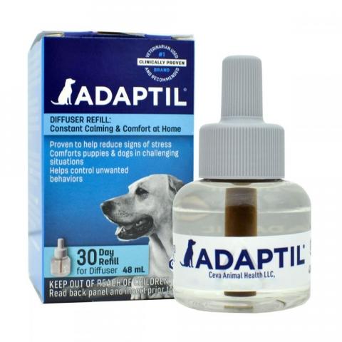 Adaptil сменный блок для диффузера с феромонами для собак и щенков