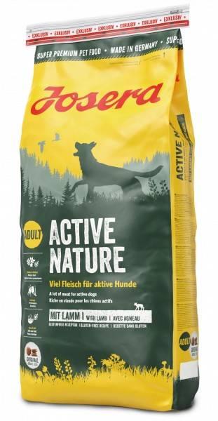 JOSERA ACTIVE NATURE – сухой корм для активных взрослых собак