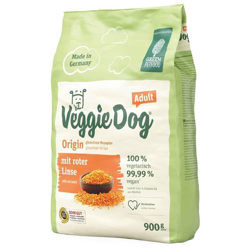 GREEN PETFOOD VEGGIEDOG ORIGIN ADULT – вегетарианский сухой корм для взрослых собак