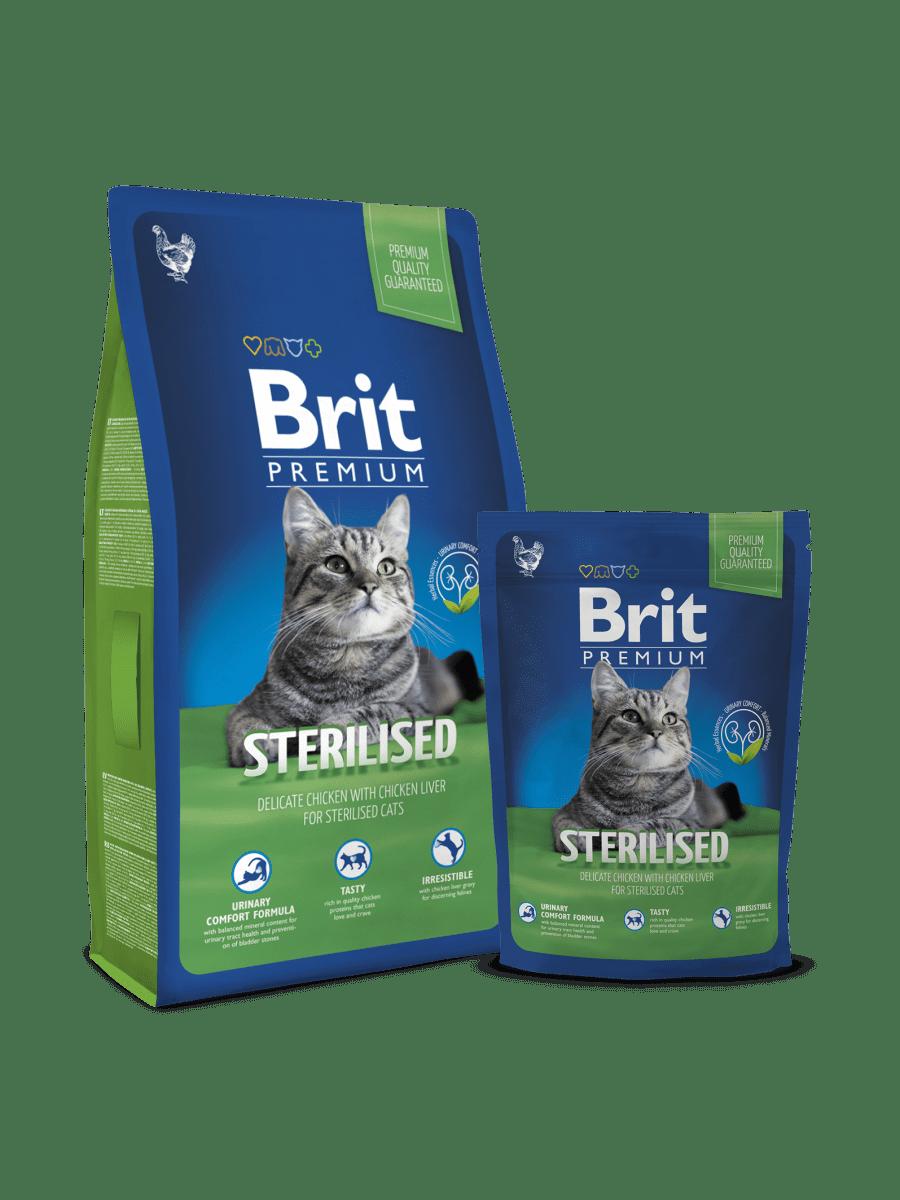 BRIT PREMIUM CAT ADULT STERILISED – сухой корм для стерилизованных котов