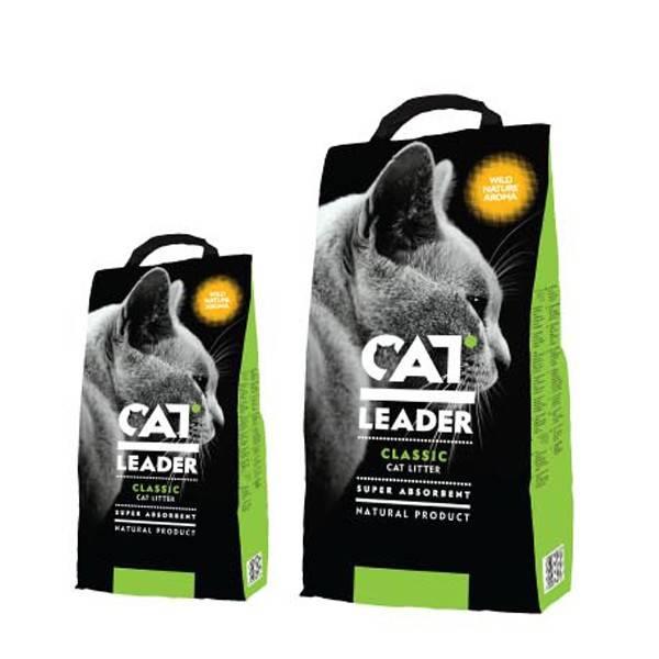 CAT LEADER WILD NATURE минеральный наполнитель с ароматом дикой природы