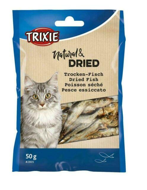 Trixie сушена риба для котів
