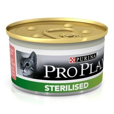 PURINA PRO PLAN STERILISED – консерва для взрослых стерилизованных котов