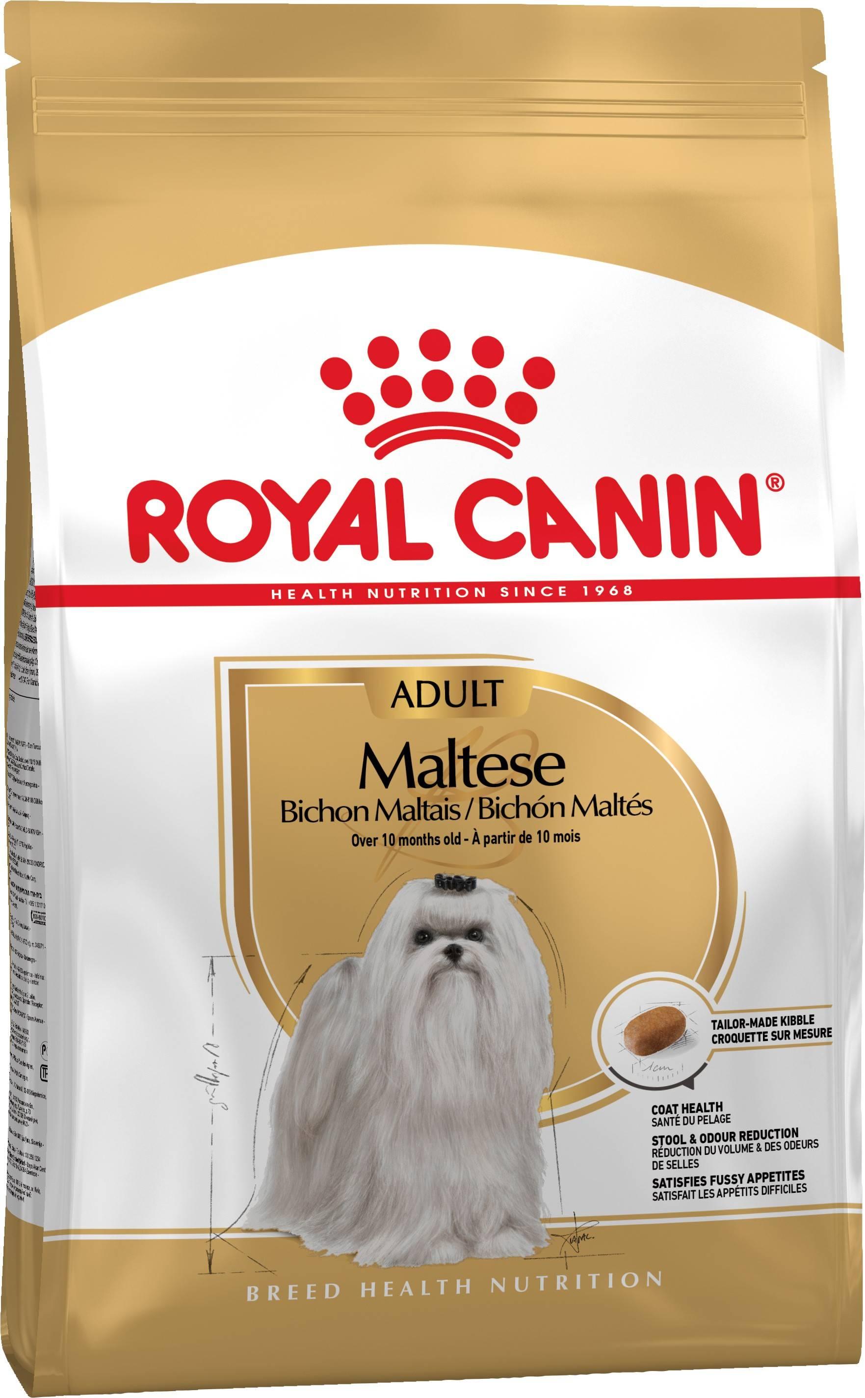 ROYAL CANIN MALTESE ADULT – сухой корм для взрослых собак породы мальтийская болонка