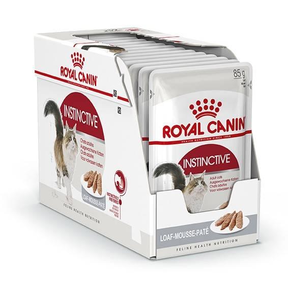 ROYAL CANIN INSTINCTIVE wet in loaf – влажный корм для взрослых котов