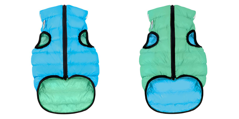 AiryVest Lumi куртка для собак, що світиться в темряві, XS 22