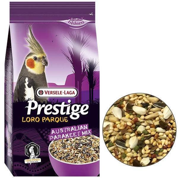 VERSELE-LAGA PRESTIGE LORO PARQUE AUSTRALIAN PARAKEET MIX – корм для австралийских попугаев