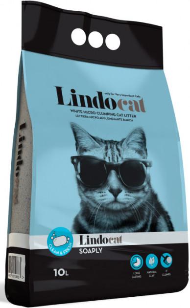 Lindocat Soaply – бентонітовий наповнювач туалетів для кішок